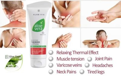 Lr Aloe Vera Thermo Lotion Relieves Pains Effectively