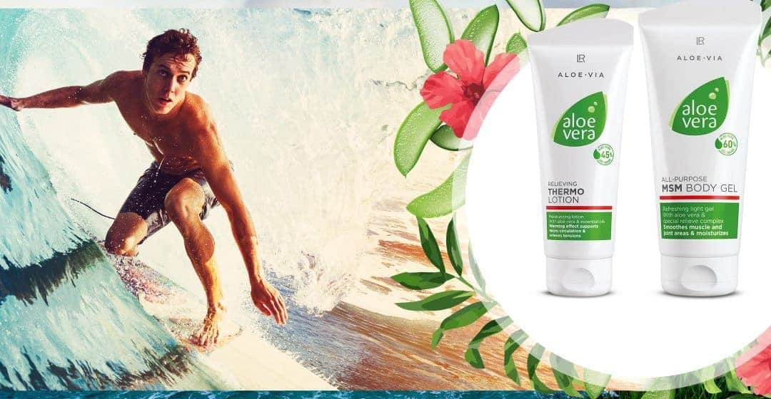 Aloe Vera MSM Body Gel For Joints and Muscles