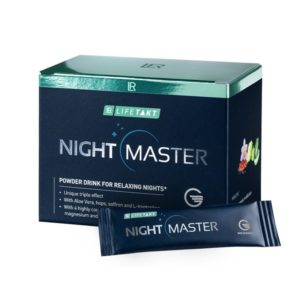 Night master powder drink for sleep quality improvement